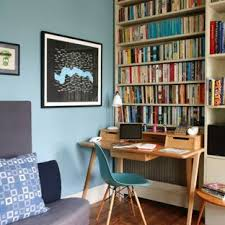 Eclectic home office Rustic Study Room Eclectic Freestanding Desk Medium Tone Wood Floor Study Room Idea In London With Houzz 75 Most Popular Eclectic Home Office Design Ideas For 2019 Stylish