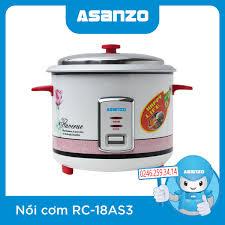 Nồi Cơm Điện Asanzo RC-18AS3 chính hãng, giá rẻ - ASANZO Hà Nội