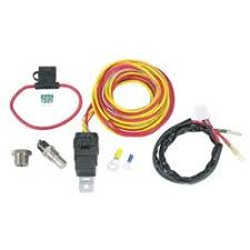 speedway electric cooling fan spal thermoswitch relay and wiring harness kit
