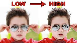 Photoshop Tutorial How To Convert Low Resolution Pictures To High