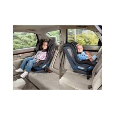 peg perego cpv car seat installed in a car in forward facing and rear