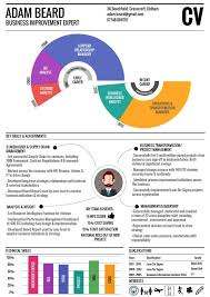 Resume One Page Infographic Cv One Page Resume Visual Resume Infographic Resume