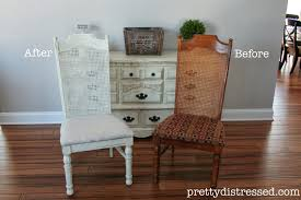 Chalk Paint Dining Room Table Pretty Distressed Cane You Dig It Dining Set Sneak Peek