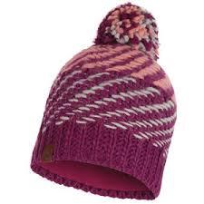 <b>Шапка BUFF Knitted&Polar</b> NELLA PURPLE RASPEBRRY ...