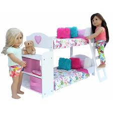 20 Pc. Bedroom Set for 18 Inch American Girl Doll. Includes: Bunk ...