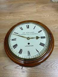 inch fusee dial wall clock