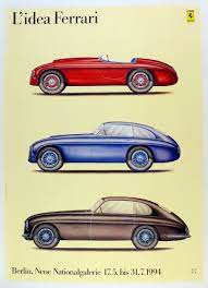 Shop affordable wall art to hang in do. Ferrari Italian Marques Vintage Auto Posters