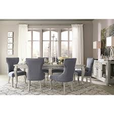 signature design by ashley corne silver dining room table today overstock 12071085