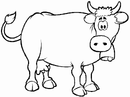 Small Picture Cow Coloring Pages Printable Animals Animal Coloring pages of