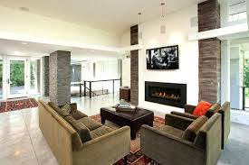 living room design with fireplace and tv impressing living room design