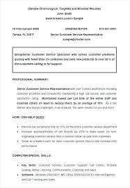 Imposing Ideas Chronological Resume Format Example Sample Of Order