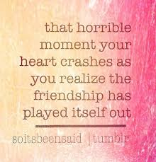 Sad Friendship Quotes on Pinterest | Irritated Quotes, Goodnight ... via Relatably.com