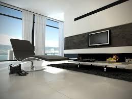 Furniture  Futuristic Home Interior Design With White Tv Vanity - Futuristic home interior