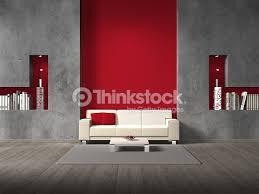 Pareti Bordeaux Immagini : Divano rosso parete grigia abbinare i colori delle pareti le idee