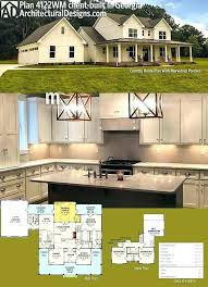 architectural designs farmhouse farm house construction plans architectural designs country farmhouse plan client built in this