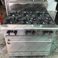 Thanh lý bếp âu BERJAYA 6 họng có lò nướng cũ - Chợ Đồ Cũ HCM