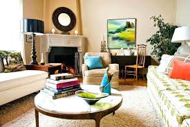 large round ottoman coffee table intended for house ideas simple glass coffee table decorating ideas centerpiece
