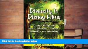 essays on films online diversity in disney films critical essays  online diversity in disney films critical essays on race 00 15
