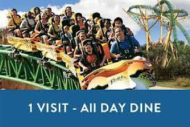 busch gardens tickets. Busch Gardens Tampa - One Visit With All-Day Dine Tickets