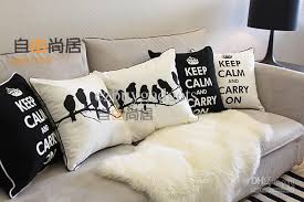 decorative pillows with words. Unique With Black White Inspiration Words Cotton Linen Decorative Cushions Pillow Cover  Case To Pillows With N