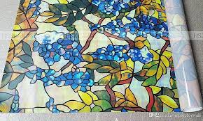 stain glass decals vinyl stained glass window decals awesome colorful g vine window static cling glass