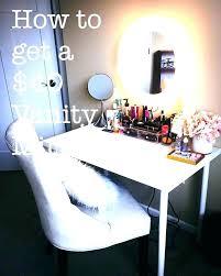 makeup vanity lighting ideas. Plug In Makeup Vanity Lights Vanities Light Ideas Best . Lighting N