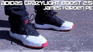 Adizero Crazy Light Low Adidas Crazylight Boost 2 5 Low James Harden Pe Detailed