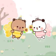 Ghim của Guadelupe Sori trên ・゚*:✼ Little Panda & Little Bear ✼:*゚ trong  2020 | Dễ thương, Gấu trúc, Gấu