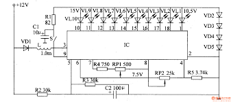 led wiring diagram of voltmeter wiring library the led car voltmeter 1