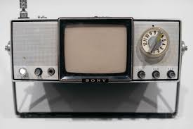 the micro s tv4 203 was a 4 inch black and white tv from 1964 that ran off nine batteries and gave 7 hours of view time