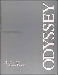 2005 2006 honda odyssey repair shop manual original