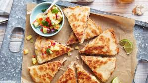 mexican food cheese quesadillas. Delighful Cheese Quesadillas Al Pastor Inside Mexican Food Cheese