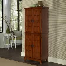 Nice Rustic Brown Wooden Free Standing Linen Closet of Best Free ...