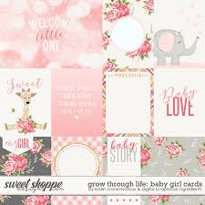 Babygirl Cards Sweet Shoppe Designs Making Your Memories Sweeter