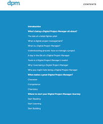 So You Think You Want To Be A Digital Project Manager Ebook The