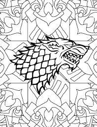 Game Of Thrones Coloring Book Target With Game Of Thrones Coloring