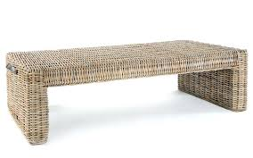 large size of coffee wicker ottoman stool for outside table the small brown rattan