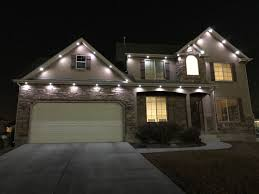 Soffit With Recessed Lighting Exterior Contemporary With Dark Soffit Lighting Exterior