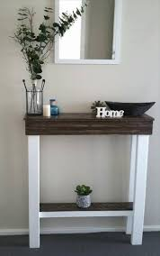 Pallet Entry Table Slim Entryway Table