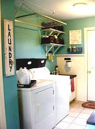 Simple Laundry Room Makeovers Unfinished Basement Laundry Room Ideas