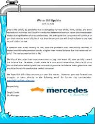 *requests received after 3:00pm may be processed until the following business day. Water Bill Update