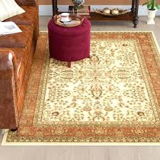 brown orange area rug and burnt rugs grand