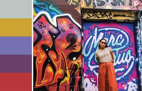 Travel Palette: Graffiti Alley - Toronto, Canada
