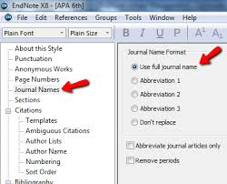 Apa Style Spacing Endnote For Apa 6th Endnote Library Management Libguides At