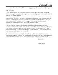 Free Hotel Hospitality Cover Letter Examples Templates From