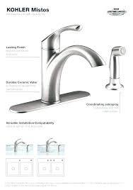 kohler rubicon kitchen faucet installation amazing bathroom aerator gallery best inspiration chrome ins