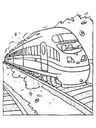 Kleurplaat Sneltrein Tekening Trein Beste Van Kleurplaat Trein A4
