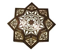 flush mount moroccan style ceiling