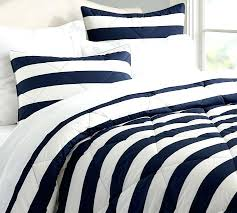 blue and white striped quilt stripe comforter sham pottery barn blue and white striped bedding target