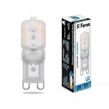 <b>Лампа</b> светодиодная <b>Feron LB</b>-<b>430</b> G9 5W 6400K 25638 по цене ...